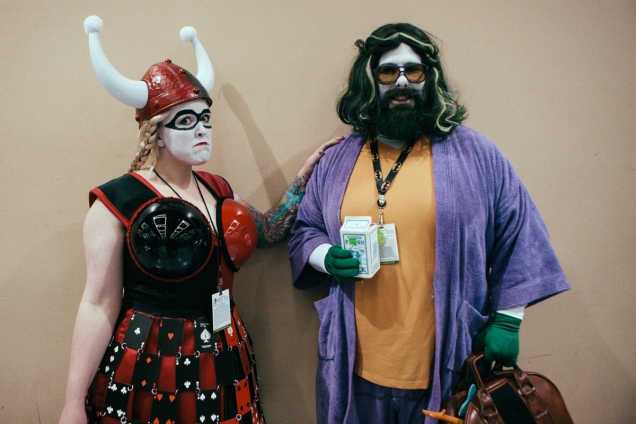 Maude and The Dude of Emerald City Comicon, 2014