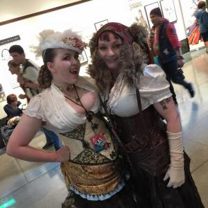 Steampunk Vampire 1 Comicon 2015